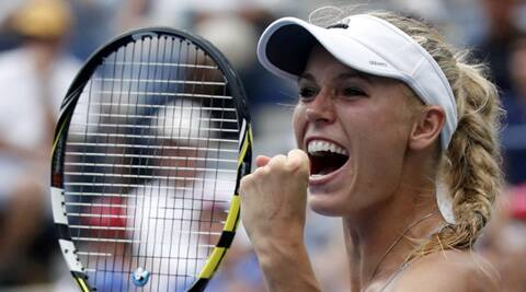 Wozniacki beat Maria Sharapova in a  (Source: Reuters)