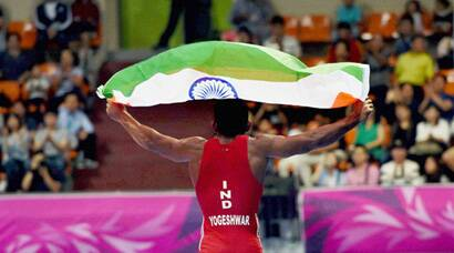 Asian Games 2014: Yogeshwar Dutt wins historic gold, athletes also finish on podium