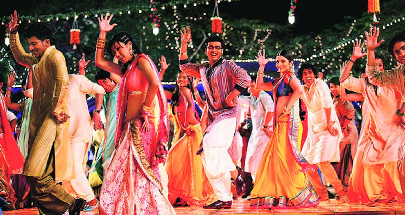 A song sequence from 2 States