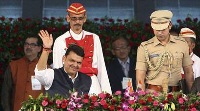 Devendra Fadnavis takes oath as Maharashtra Chief Minister