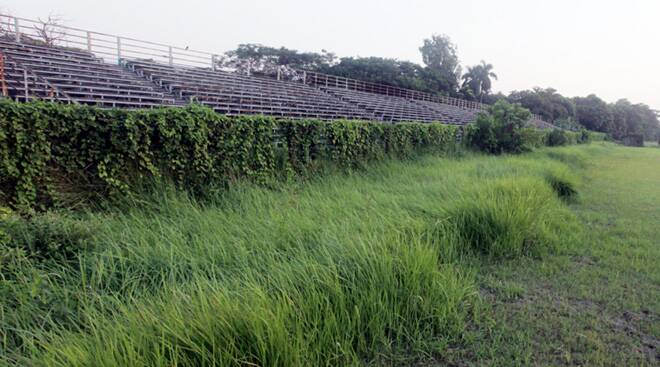 Mohammedan Sporting club stadium in tatters for years