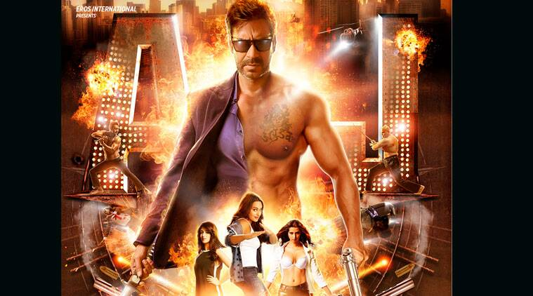 Prabhu Dheva 'unlocked'  the first look of Action Jackson for the fans a few hours ago.