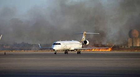Official: Suicide bombers kill 7 at Libyan airport