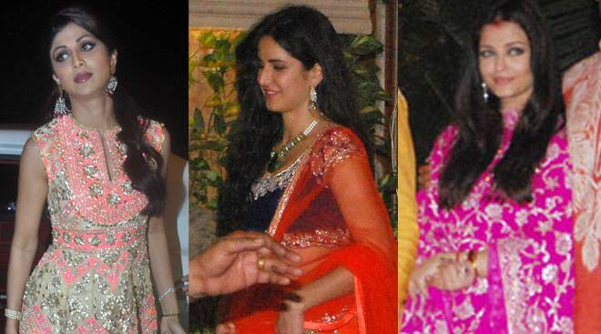 Katrina, Aishwarya, Shilpa: Best dressed stars from last year's Diwali parties