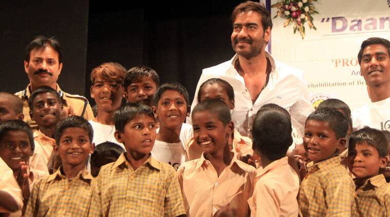 """""""Our country and future is in the hands of children,"""" says Ajay Devgn."""
