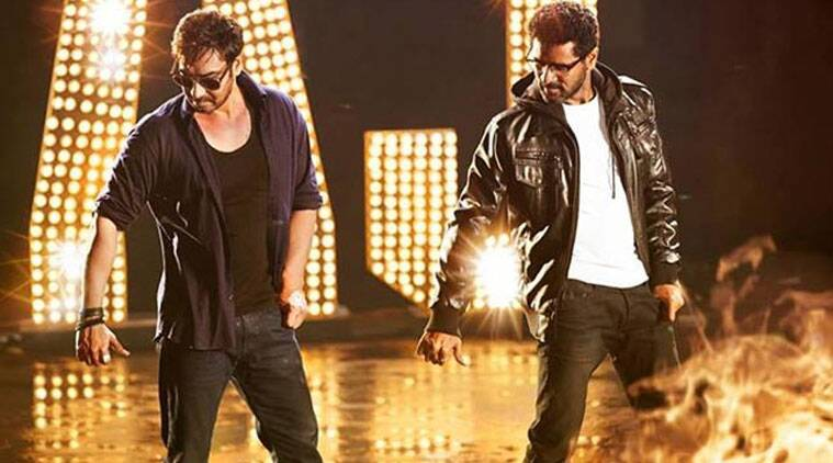 """Prabhudheva was happy to see Ajay dance in the film. """"He normally doesn't dance. We have made him dance very stylishly. If you see, you'll know,"""" Prabhudheva said."""