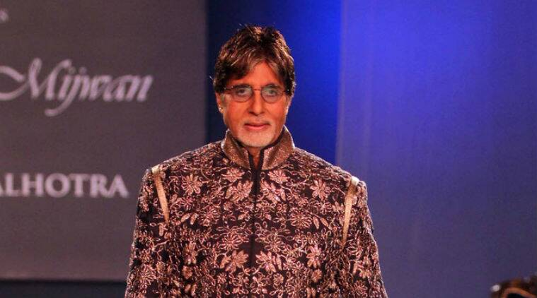 Amitabh Bachchan celebrates his 72nd birthday today (October 11).