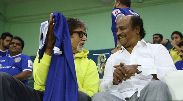 Amitabh Bachchan says he is hopeful that the popularity of football will increase in the country in future.
