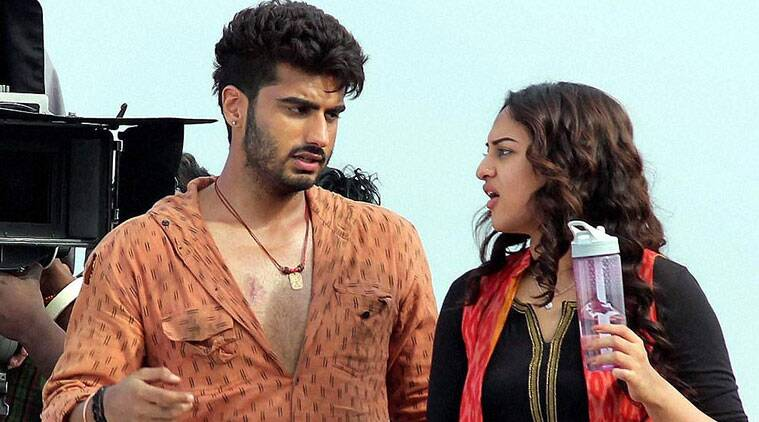 """Since it was an action film and involved loads of chasing sequence, she had to be out all the time with me. It was a difficult film to shoot but she never complained about it once. These team efforts add value to a film and she is a team player,"" Arjun Kapoor, 29, said in an interview."