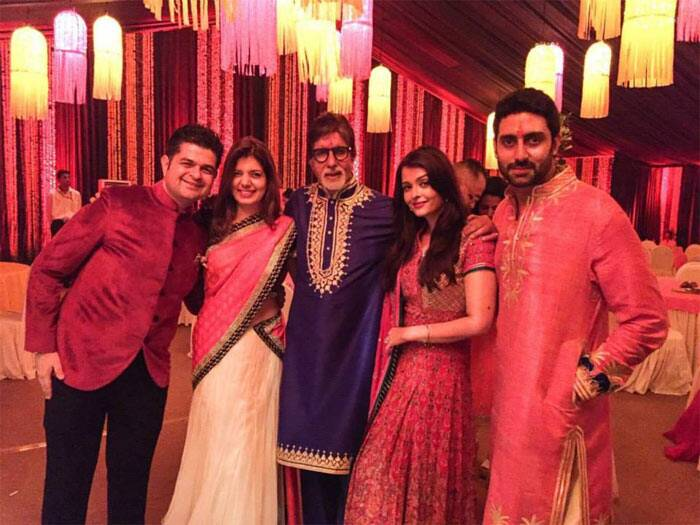 Beau Inside Pics Of Bachchans Diwali Bash: Aishwarya, Abhishek, Shweta Party All  Night