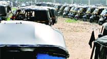 Drivers of diesel-run autos protest againstban
