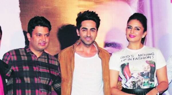 The team of Mitti Di Khushboo during the  launch of the song