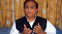 BJP dares Azam Khan to ban RSS in Uttar Pradesh
