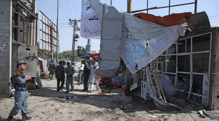 Afghanistan blast: 'Four killed in market explosion,' say officials