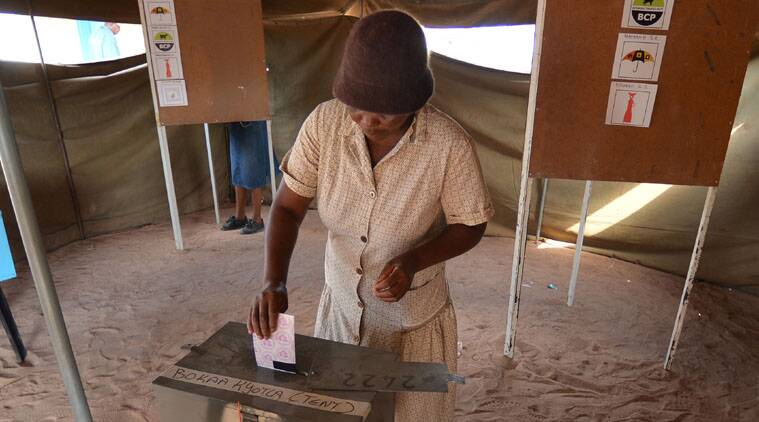 The party that has ruled Botswana for nearly five decades was leading Saturday in early results.