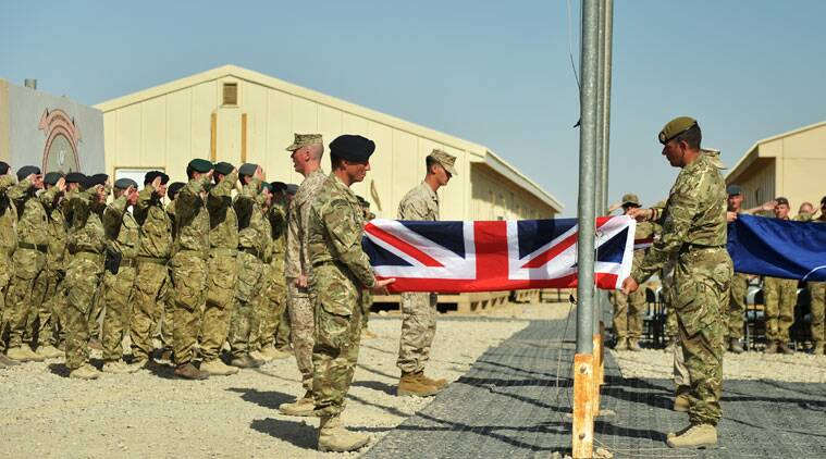 UK Armed Forces have ended combat operations in Helmand Province, paving the way for the final transfer of security to the Afghan National Security Forces (ANSF) defense officials said Sunday Oct. 26, 2014. (Source: AP)