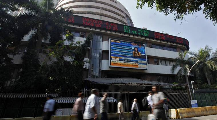 BSE Sensex soars 326.61 pts to hit new peak of 28,765.52. (Reuters)