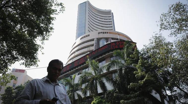 Indian stocks continued their downslide today with benchmark Sensex tumbling 229.09 points to six-week low of 27,602.01 on sharp losses in RIL and ONGC after further drop in crude oil price. (Reuters)