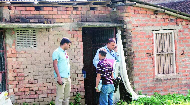 An NIA team conducted search operations at a madrasa in Lalgola, Murshidabad, recently. (Source: Express photo)