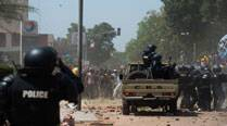 Burkina Faso president won't resign after protests