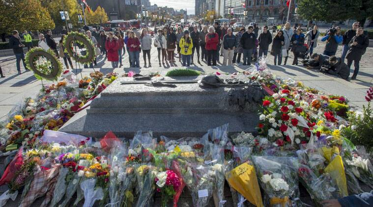 A gunman who stormed Canada's parliament after killing a soldier at a nearby war memorial was a petty criminal.