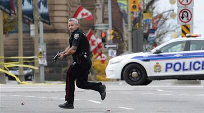 Canada on high alert after parliament attack