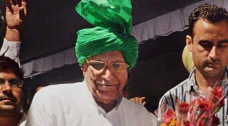 Om Prakash Chautala clears Class X exam with 53.4 per cent
