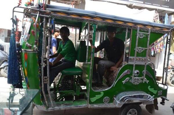 The dazzling autos of Churu