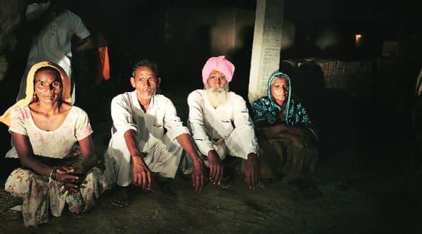 None of these former sanitation campaign volunteers of Bara Guda village has a toilet. Source; Renuka Puri