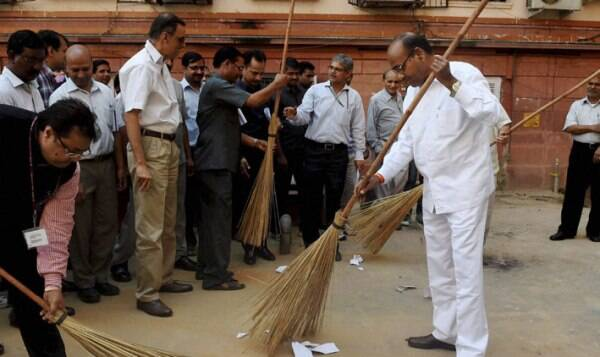 The Prime Minister has given a call for 'Swachh Bharat' (Clean India) as a mass movement to realise Mahatma Gandhi's dream of a clean India. (Source: PTI)