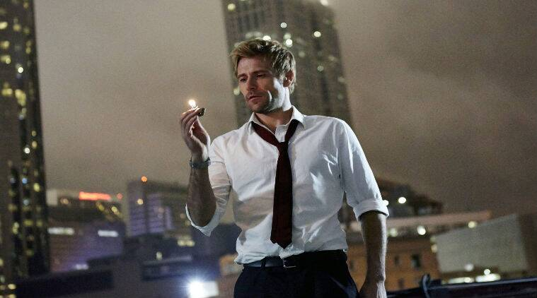 'Constantine' stars Matt Ryan as dark magician and detective John Constantine.