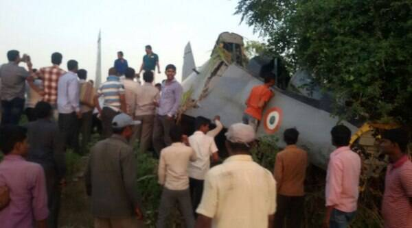 The crash took place at about 5.30 pm near the Kolwadi village about 25 km from Pune city.