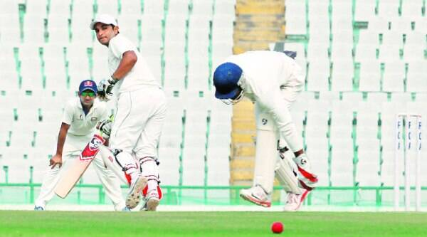 Mahesh Rawat's 10th first-class century was a special innings as Central Zone were in danger of being dismissed cheaply when he walked out to bat on Day Four of the Duleep Trophy semifinal. (Source: Jasbir Malhi)