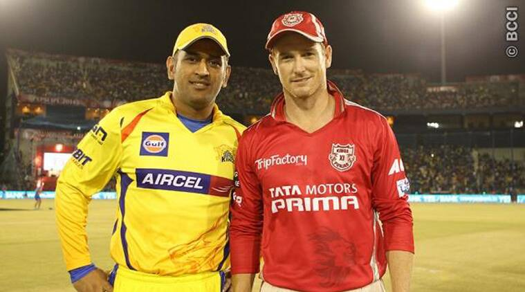 CSK are yet to beat KXIP in 2014. (Source: BCCI)