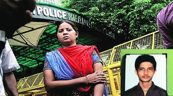 Manju Pandey's son Karan was killed in police firing in July last year.