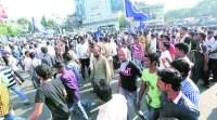 Protest against Ahmednagar Dalit murders reaches Pune city