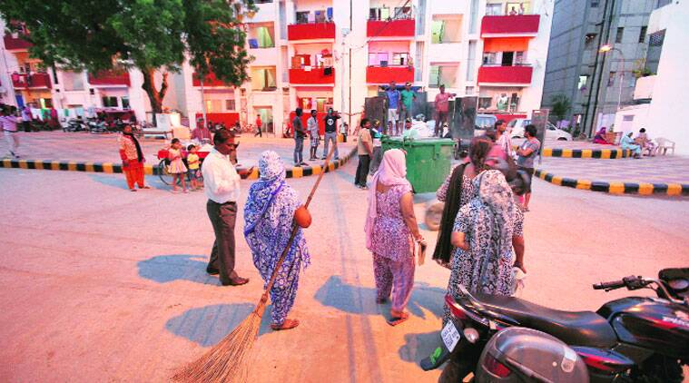 Valmiki Colony residents put through police checks ahead of Modi's visit