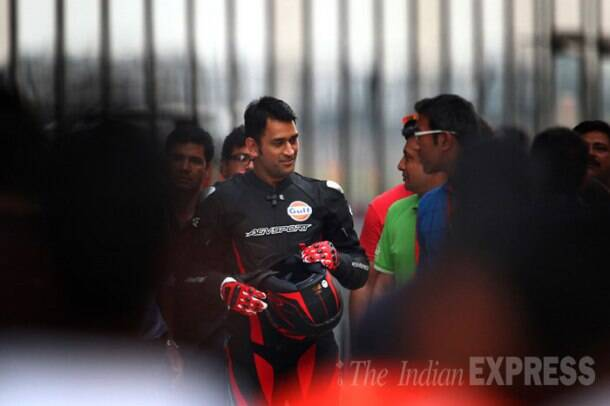 Bike Festival of India: MS Dhoni's day out at Buddh International Circuit