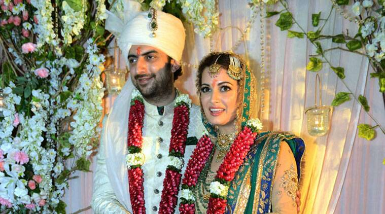 The 32-year-old 'Rehna Hai Tere Dil Mein' star tied the knot last night with her longtime partner Sahil.