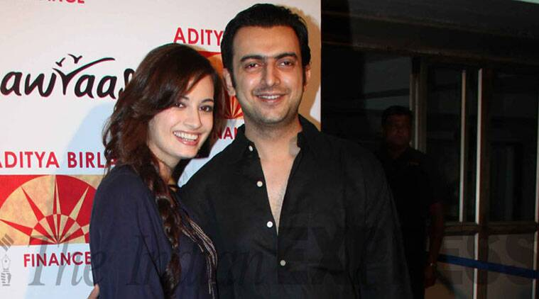 Dia Mirza has been taking to Twitter to express her happiness over the union and has been posting details of the wedding rituals as and when they happen.