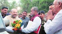 Eye on Bihar, Shah attends Chhath