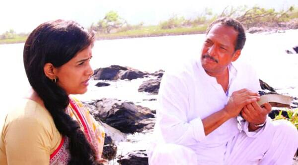 Nana Patekar and Sonali Kulkarni in  Dr Prakash Baba Amte-The Real Hero