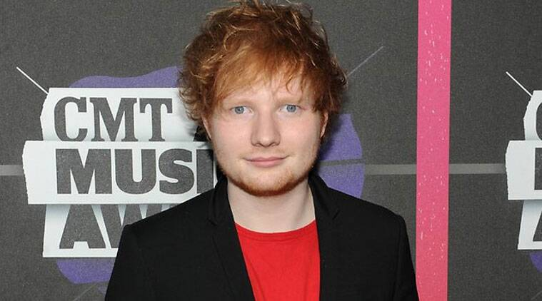 Ed Sheeran: 'I'd like to be healthier but I just don't enjoy working out. (Source: AP)