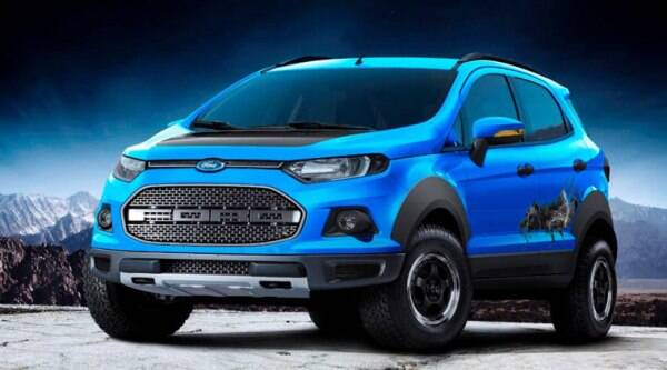Ford is insisting that these models are a showcase of the EcoSport's ability, versatility and customization possibilities.