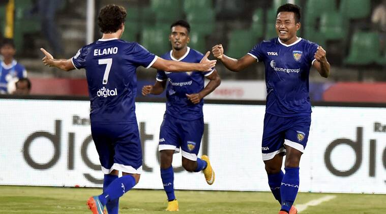 Brazilian Elano, with his two goals on Tuesday, became the highest goal scorer in the ISL. (Source: PTI