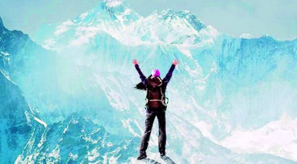 (Above) Everest is the story of a young girl who fulfils her father's dream of scaling the highest peak in the world; director Ashutosh Gowariker