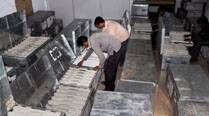 Election officials chek EVMs in Nagpur
