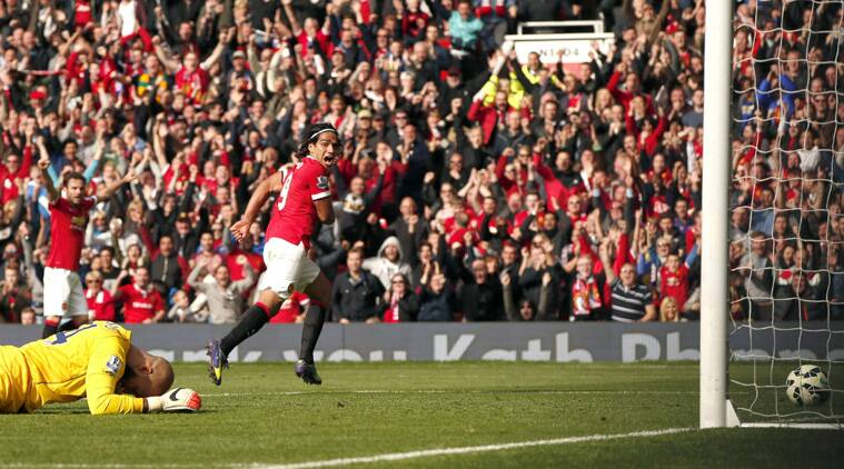 Falaco missed four chances but finally scored a poacher's goal as United claimed a deserved win. (Source: Reuters)