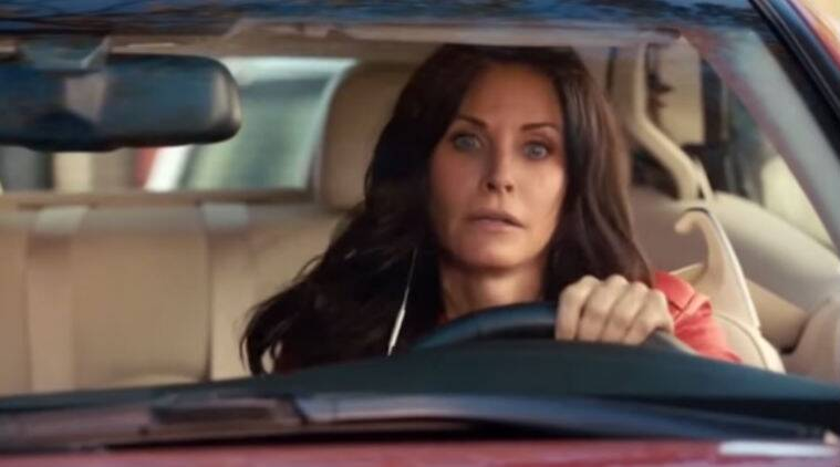 The trailer is a spoof and contains a montage of the cast's recent television appearances.