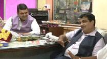 Devendra Fadnavis set to be Maharashtra Chief Minister, Nitin Gadkari says 'happy in Delhi'